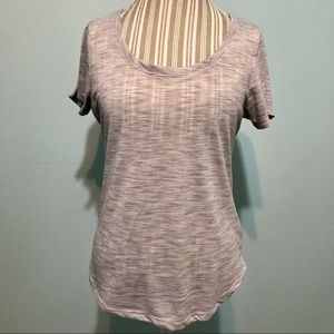 Grey Threads 4 Thoughts Yoga Tee Size Large